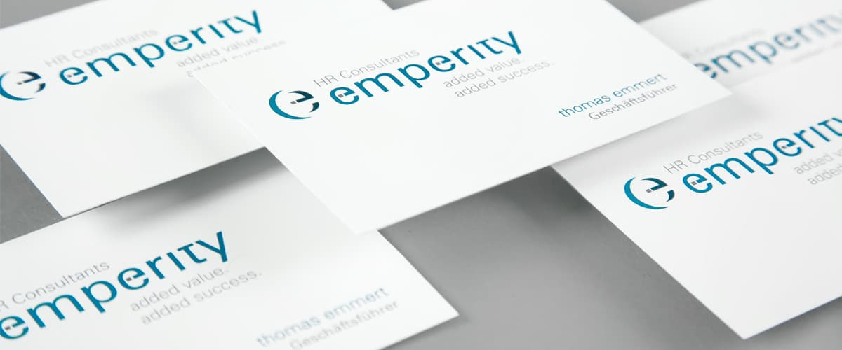 emperity-Visitenkarten